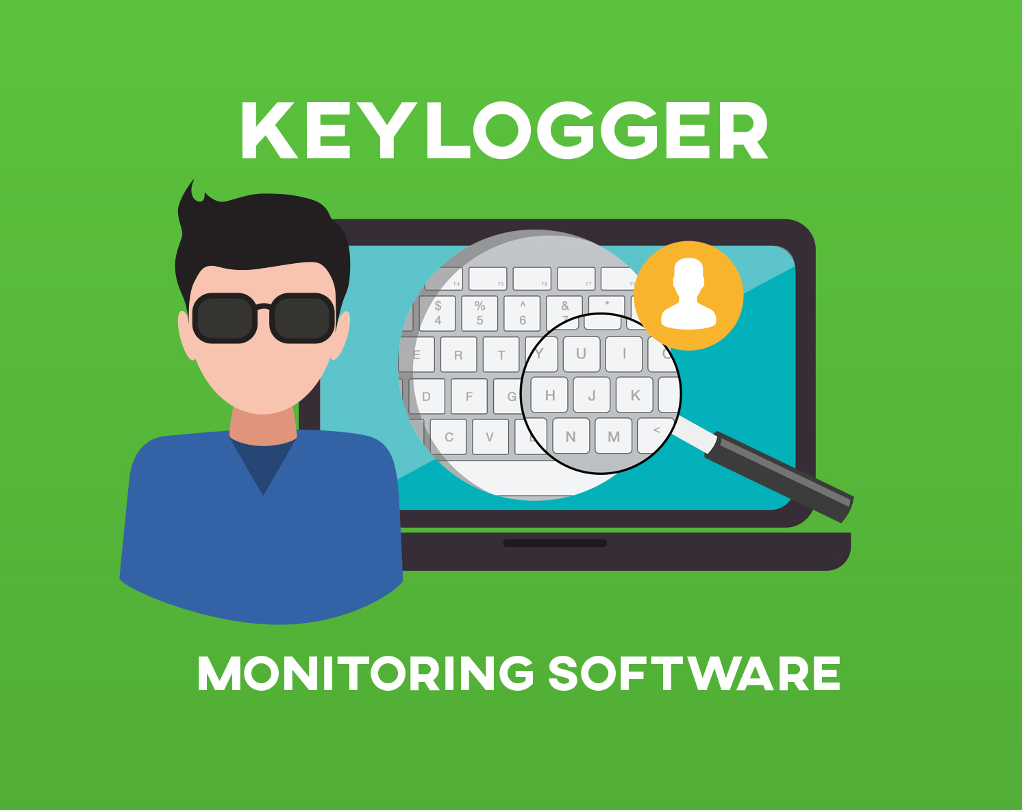 What is a keylogger?