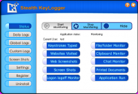 Screenshot #1 of Stealth Keylogger