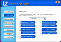 Screenshot #2 of Stealth Keylogger