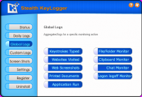 Screenshot #3 of Stealth Keylogger
