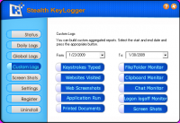 Screenshot #4 of Stealth Keylogger