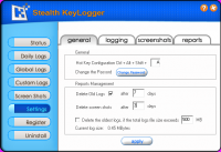 Screenshot #5 of Stealth Keylogger