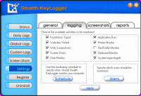 Screenshot #6 of Stealth Keylogger