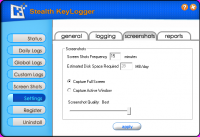 Screenshot #7 of Stealth Keylogger