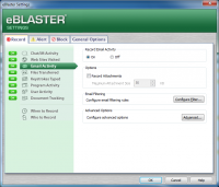 Screenshot #4 di eBlaster