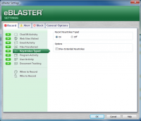 Screenshot #5 di eBlaster
