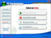 Screenshot #3 of PC Spy Keylogger